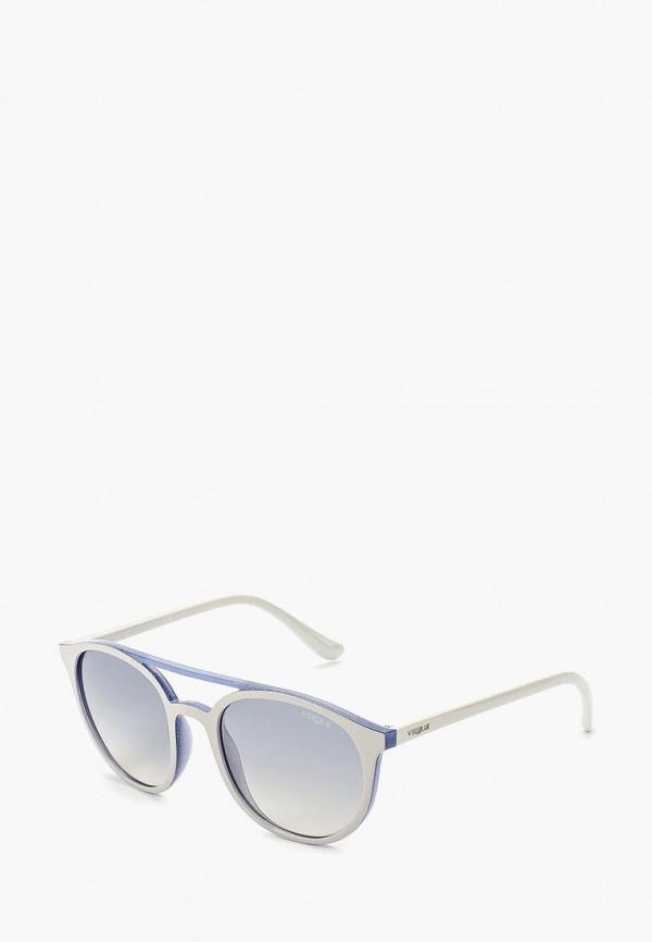 Купить Очки солнцезащитные Vogue® Eyewear, VO5195S 25947B, VO007DWZBF50, белый, Весна-лето 2018