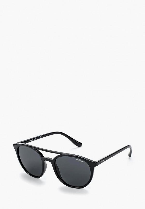 Купить Очки солнцезащитные Vogue® Eyewear, VO5195S W44/87, VO007DWZBF51, черный, Весна-лето 2018