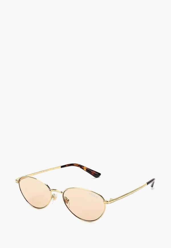Купить Очки солнцезащитные Vogue® Eyewear, VO4082S 280/73, VO007DWZBF56, золотой, Осень-зима 2018/2019