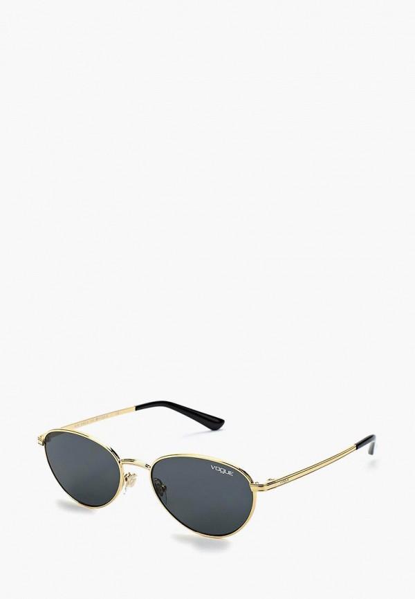 Купить Очки солнцезащитные Vogue® Eyewear, VO4082S 280/87, VO007DWZBF57, золотой, Осень-зима 2018/2019