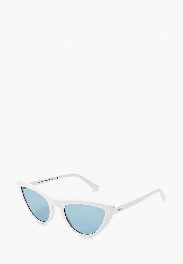 женские солнцезащитные очки кошачьи глаза vogue® eyewear, белые
