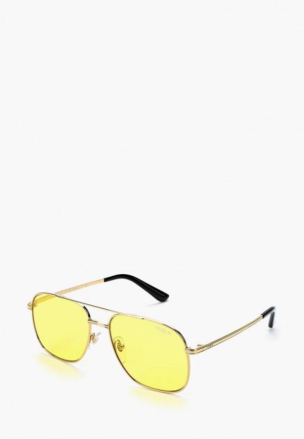 Купить Очки солнцезащитные Vogue® Eyewear, VO4083S 280/85, VO007DWZBF65, золотой, Осень-зима 2018/2019