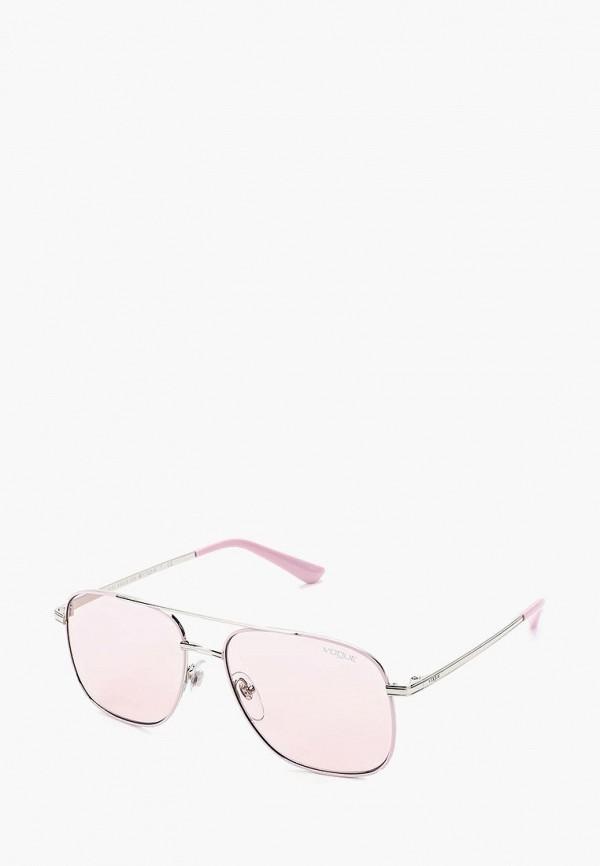 Купить Очки солнцезащитные Vogue® Eyewear, VO4083S 323/5, vo007dwzbf67, розовый, Весна-лето 2019