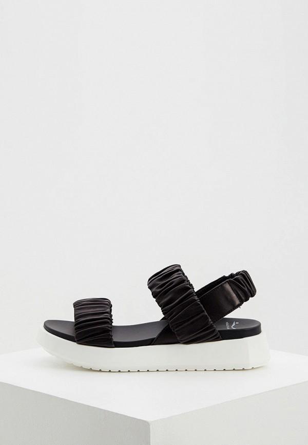 женские сандалии voile blanche, черные