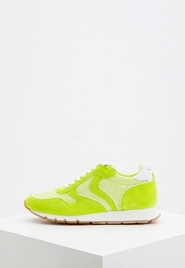женские кроссовки voile blanche, зеленые