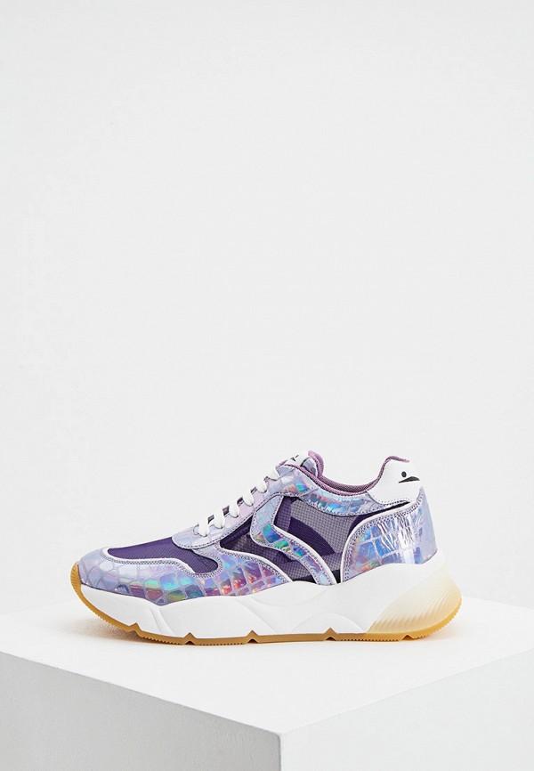 женские кроссовки voile blanche, фиолетовые