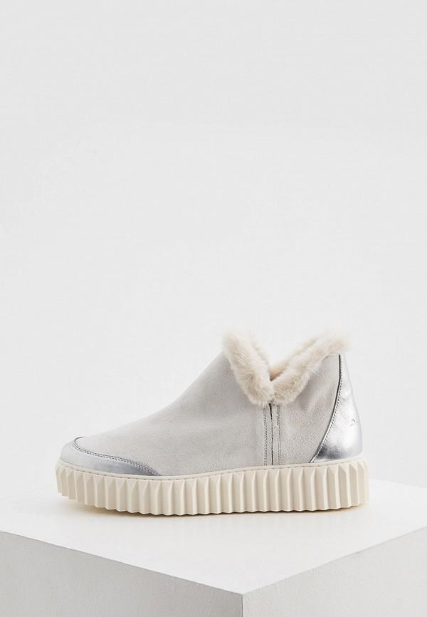 женские ботинки voile blanche, белые