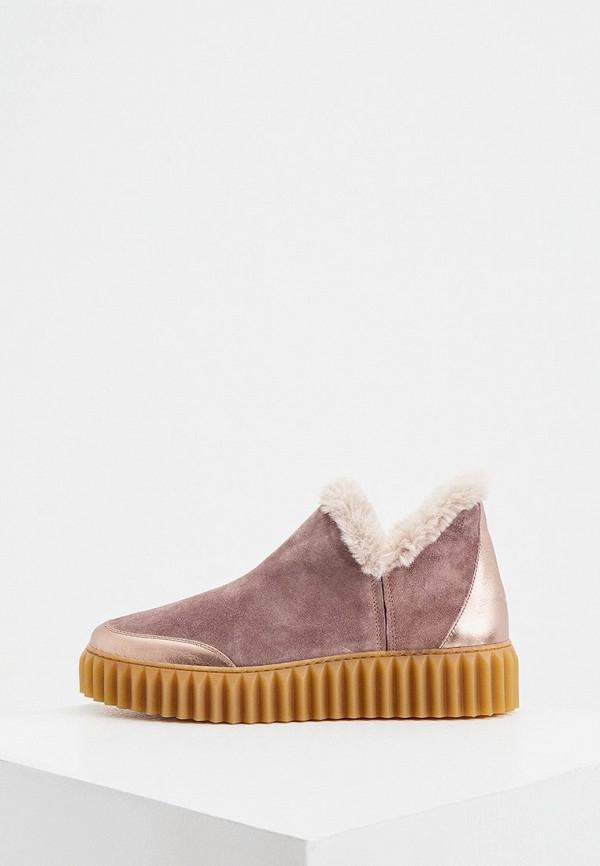 женские ботинки voile blanche, серые