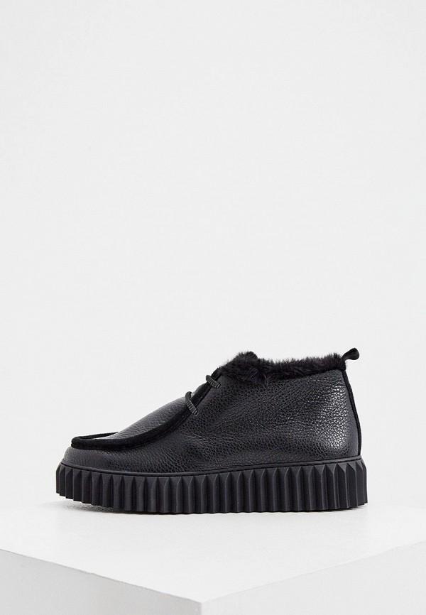 женские ботинки voile blanche, черные