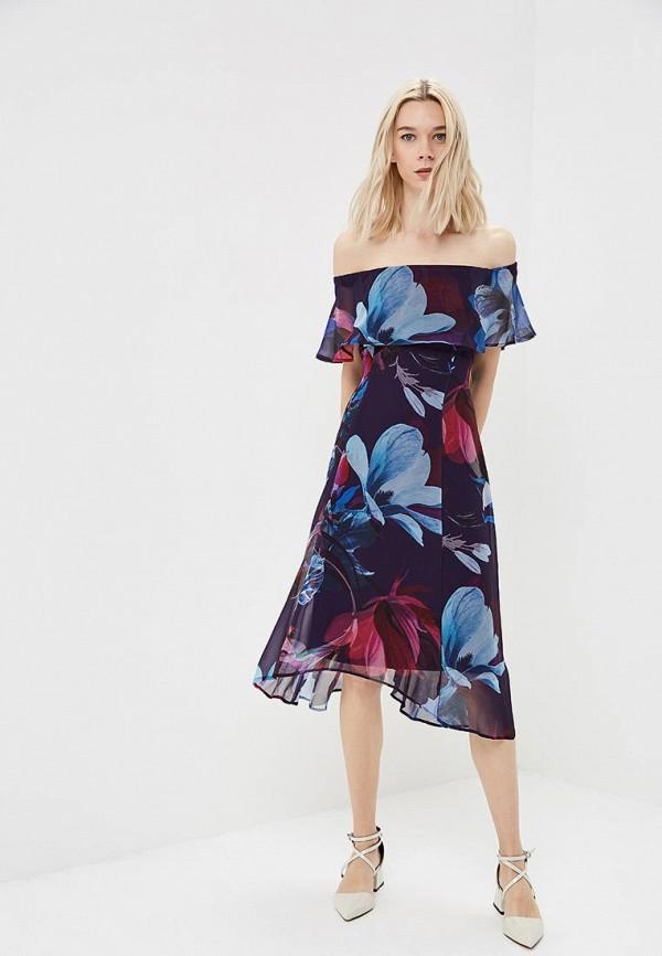 женское повседневные платье wallis, фиолетовое