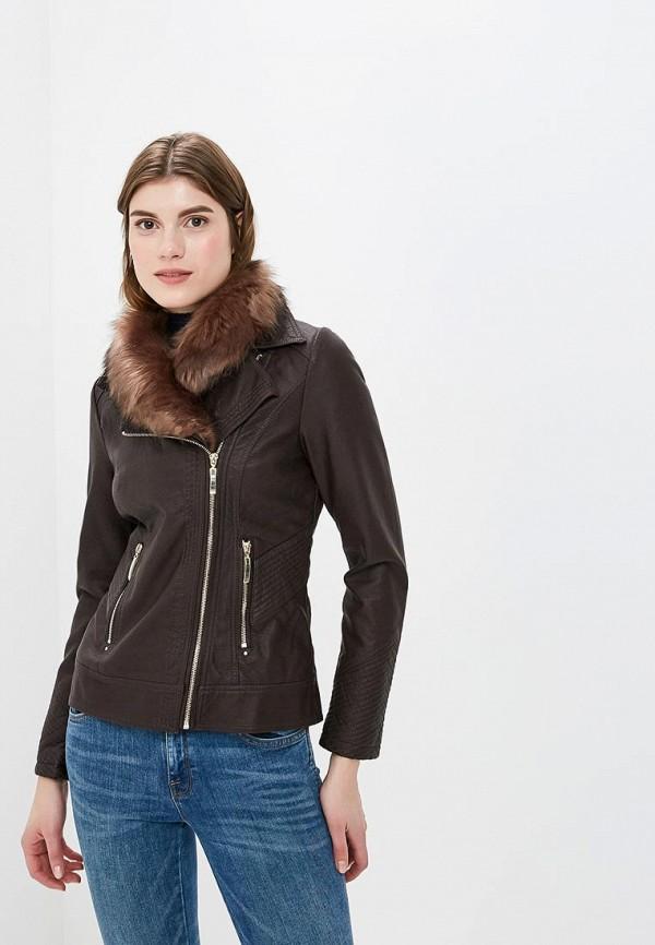 Куртка кожаная Wallis Wallis WA007EWCXLN8 куртка кожаная wallis wallis wa007ewayxi7