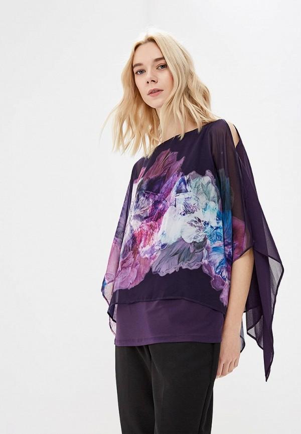 женская блузка wallis, фиолетовая
