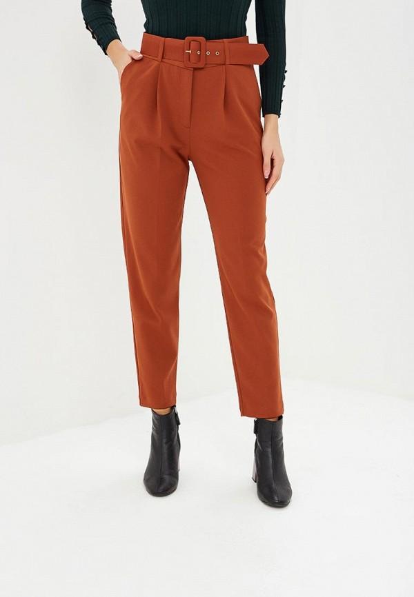 женские повседневные брюки wallis, коричневые