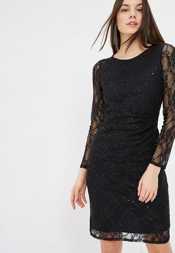 Купить Платье Wallis, wa007ewdhsd0, черный, Осень-зима 2018/2019