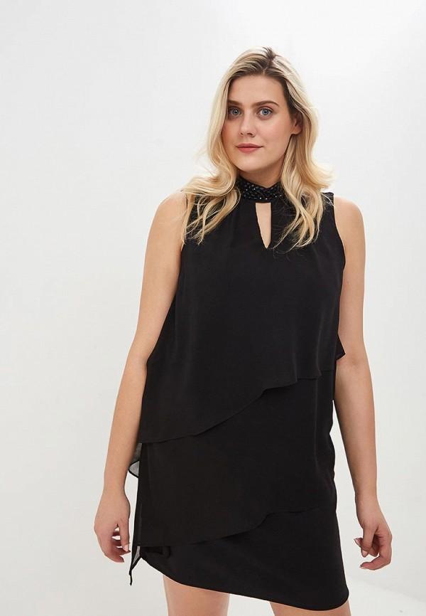 Купить Платье Wallis, wa007ewdhsd2, черный, Осень-зима 2018/2019