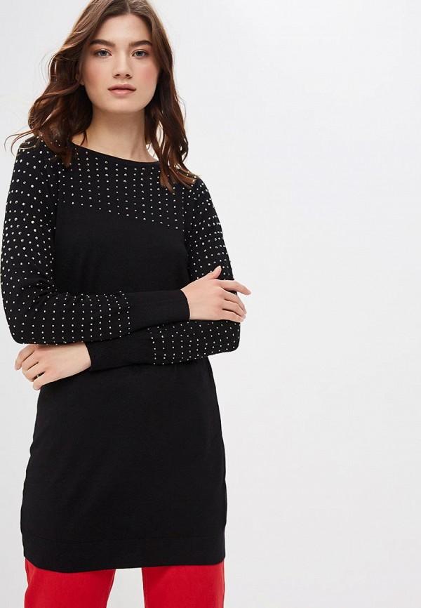 Купить Туника Wallis, wa007ewdkir3, черный, Осень-зима 2018/2019