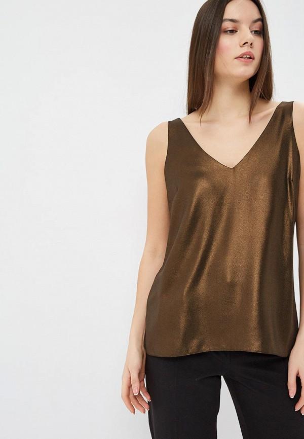 женский топ wallis, коричневый
