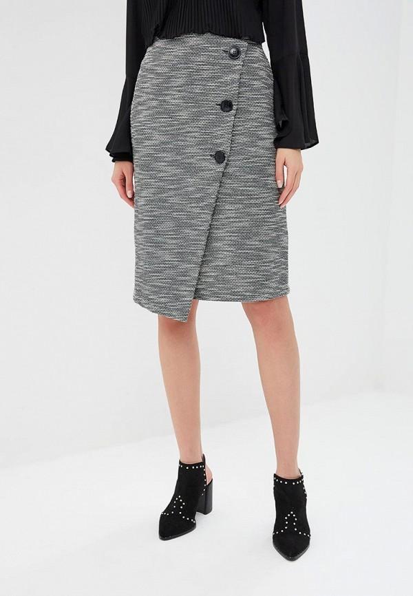 женская прямые юбка wallis, серая