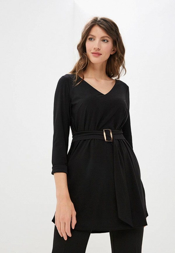 женская туника wallis, черная