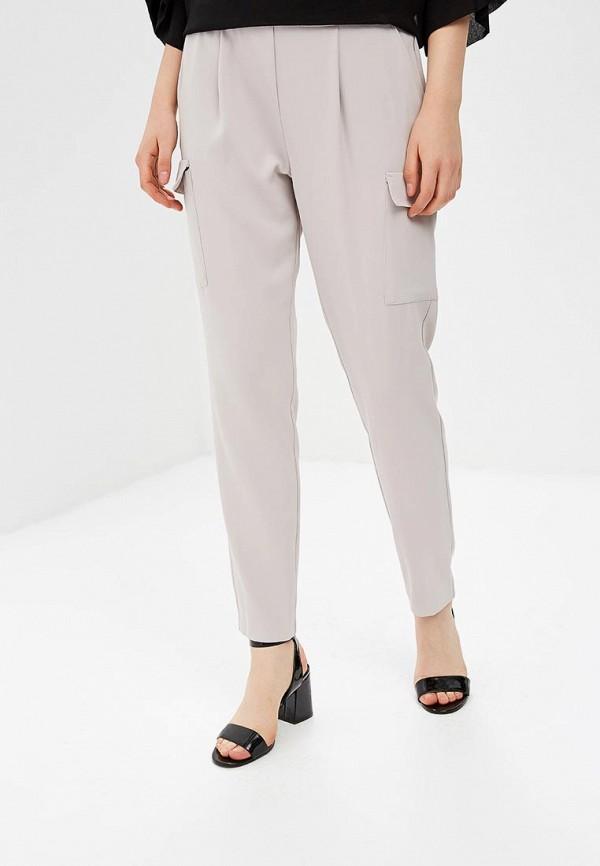 женские брюки wallis, серые