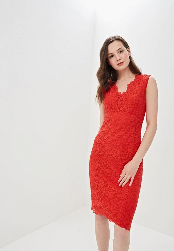 женское вечерние платье wallis, красное