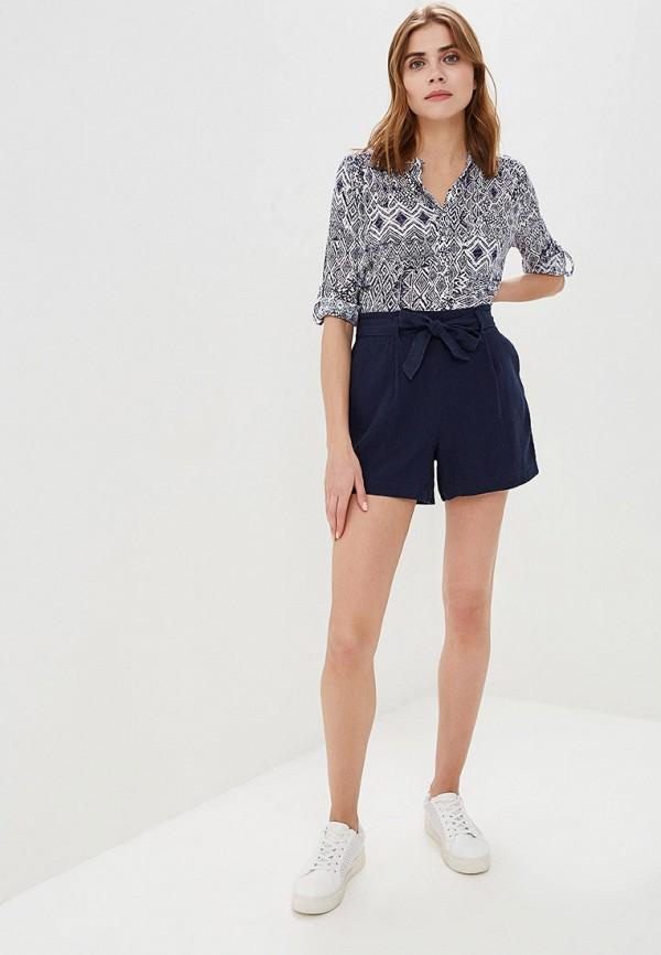 Фото 2 - женскую рубашку Wallis голубого цвета