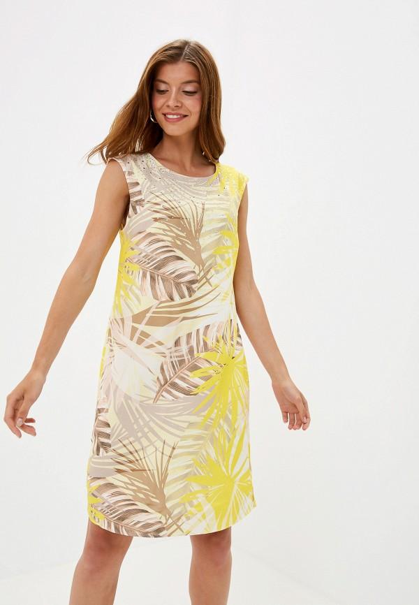 женское повседневные платье wallis, желтое