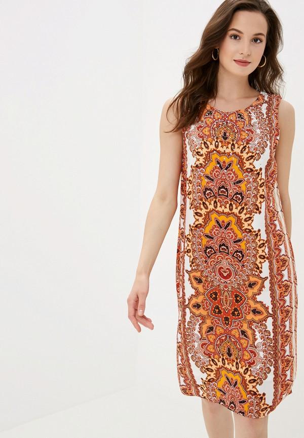 Купить женское платье Wallis оранжевого цвета
