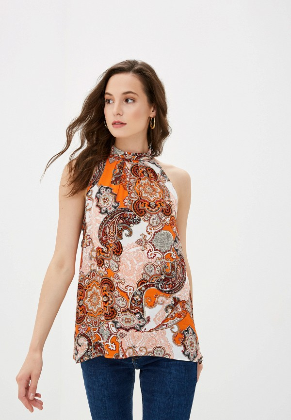 Купить женский топ Wallis оранжевого цвета