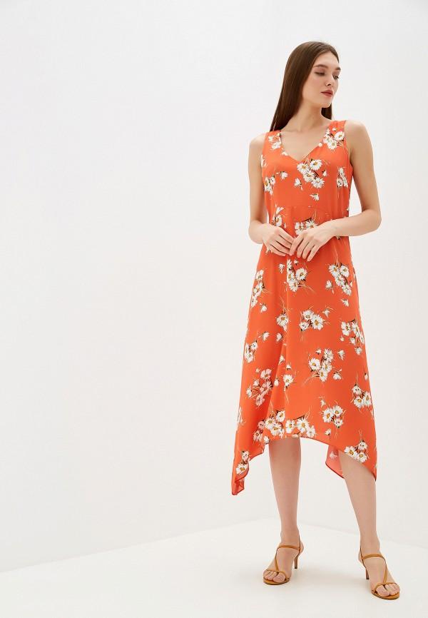 женское повседневные платье wallis, оранжевое