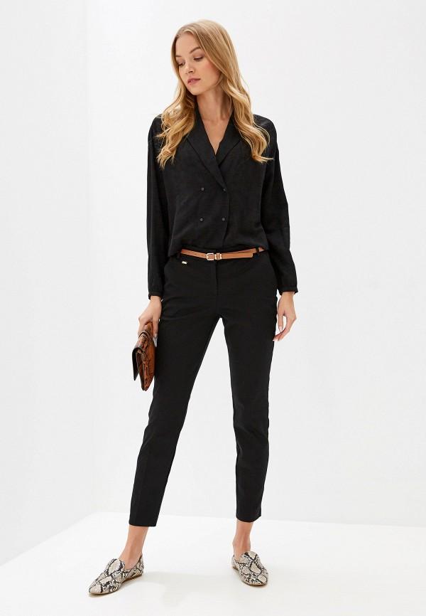Фото 2 - мужские брюки Wallis черного цвета