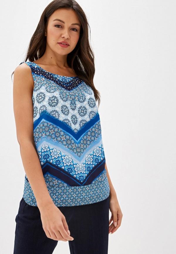 женский топ wallis, синий