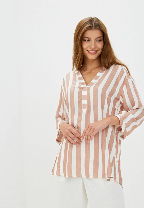 Фото - Женскую блузку Wallis бежевого цвета