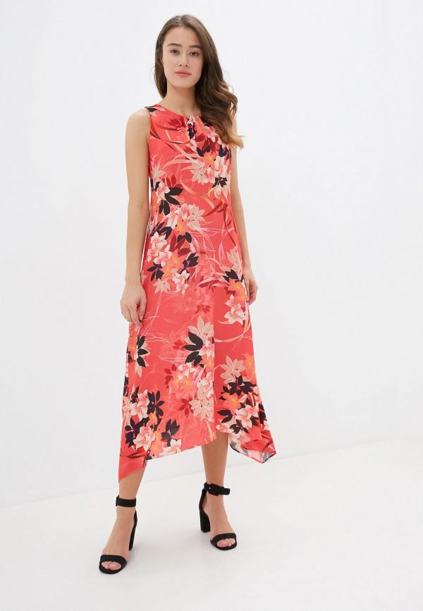 Фото 4 - женское платье Wallis красного цвета
