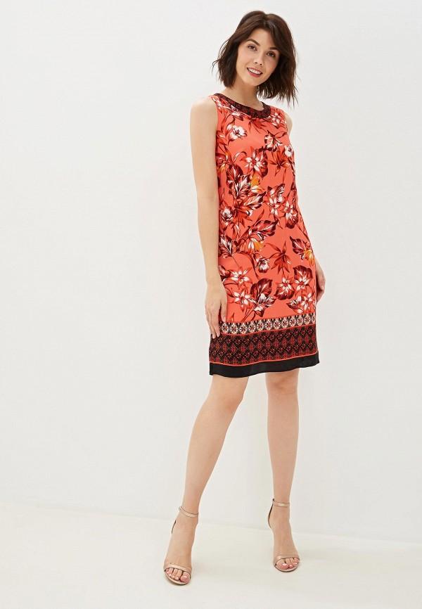 Фото 2 - женское платье Wallis красного цвета