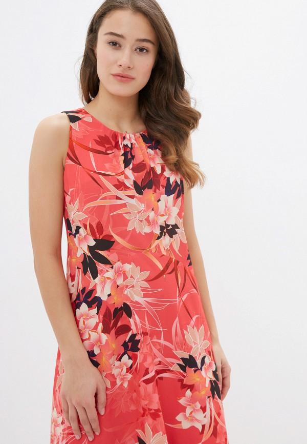 Фото 5 - женское платье Wallis красного цвета