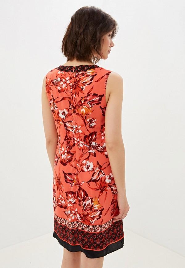 Фото 3 - женское платье Wallis красного цвета