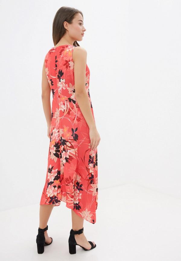 Фото 6 - женское платье Wallis красного цвета
