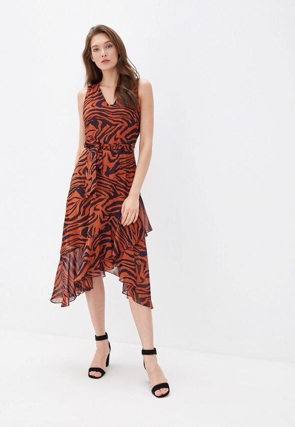 женское повседневные платье wallis, коричневое