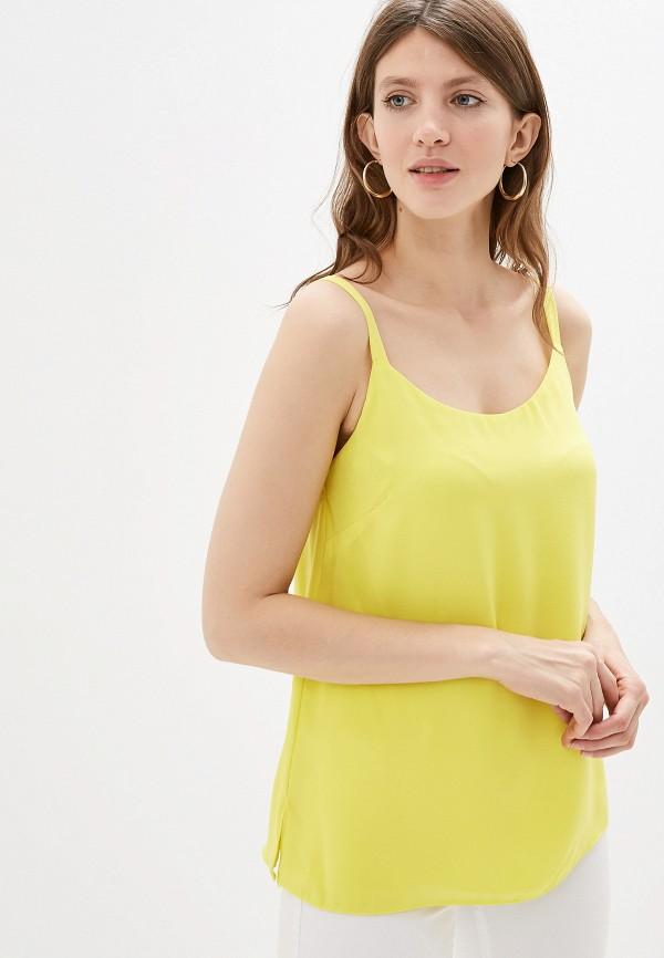 женский топ wallis, желтый