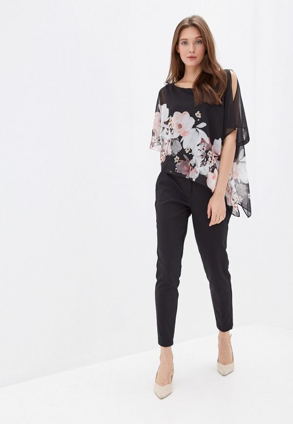 Фото 2 - женские брюки Wallis черного цвета