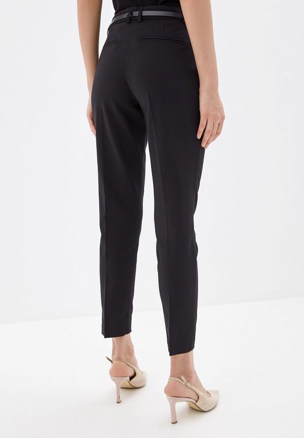 Фото 3 - женские брюки Wallis черного цвета