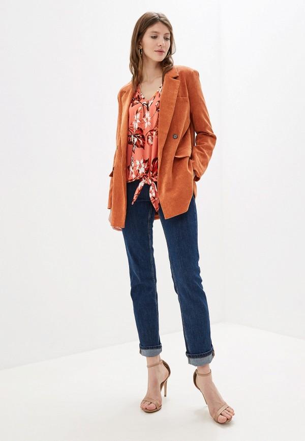 Фото 2 - женскую блузку Wallis кораллового цвета