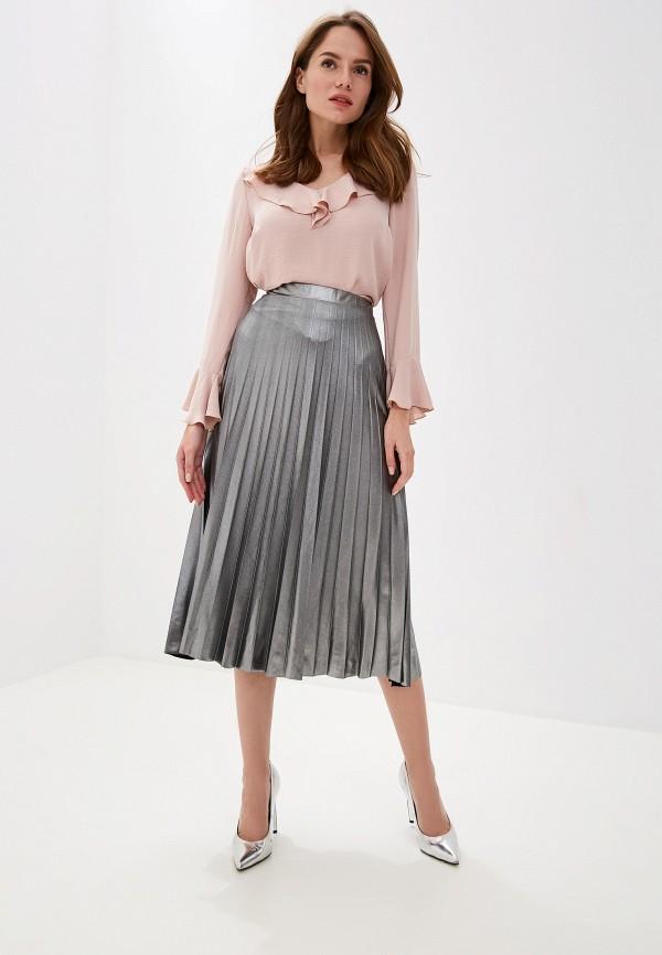 Фото 2 - женскую блузку Wallis розового цвета