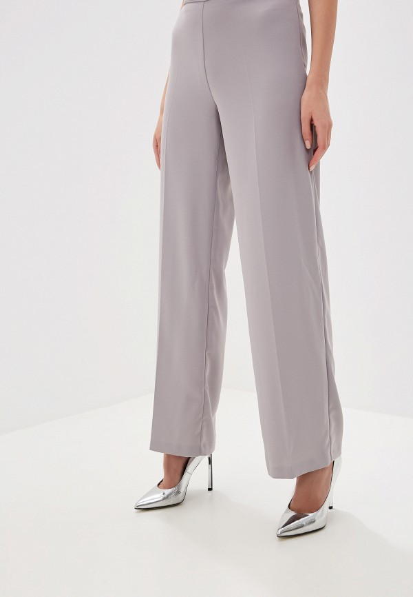 женские повседневные брюки wallis, серые