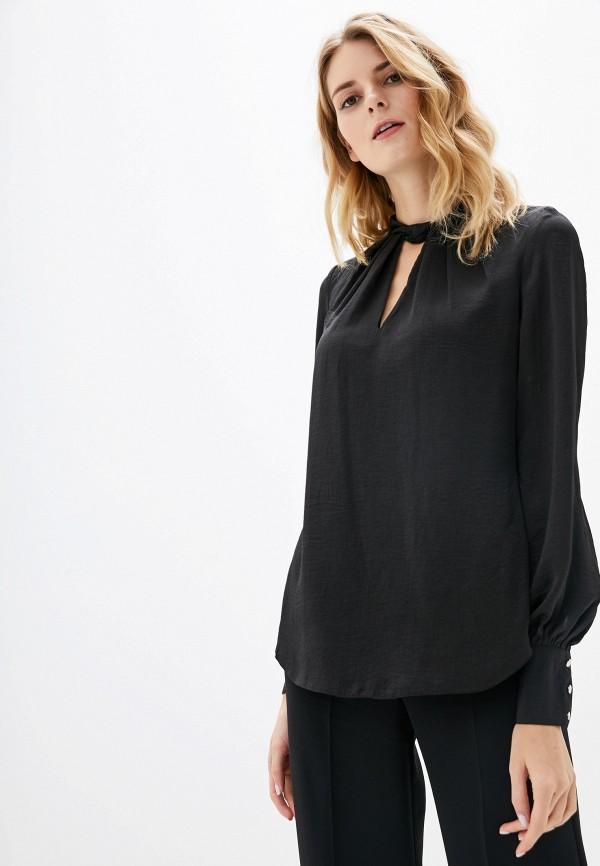 Фото - женскую блузку Wallis черного цвета