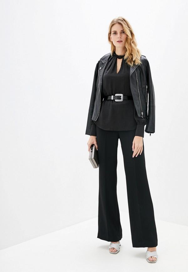 Фото 2 - женскую блузку Wallis черного цвета