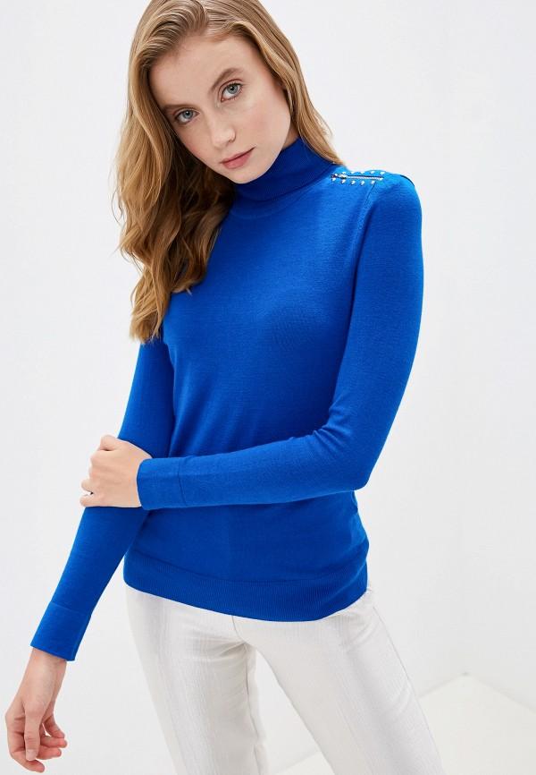 женская водолазка wallis, синяя
