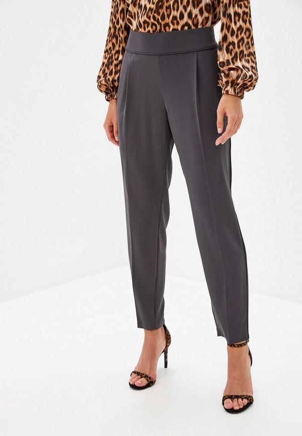 женские зауженные брюки wallis, серые