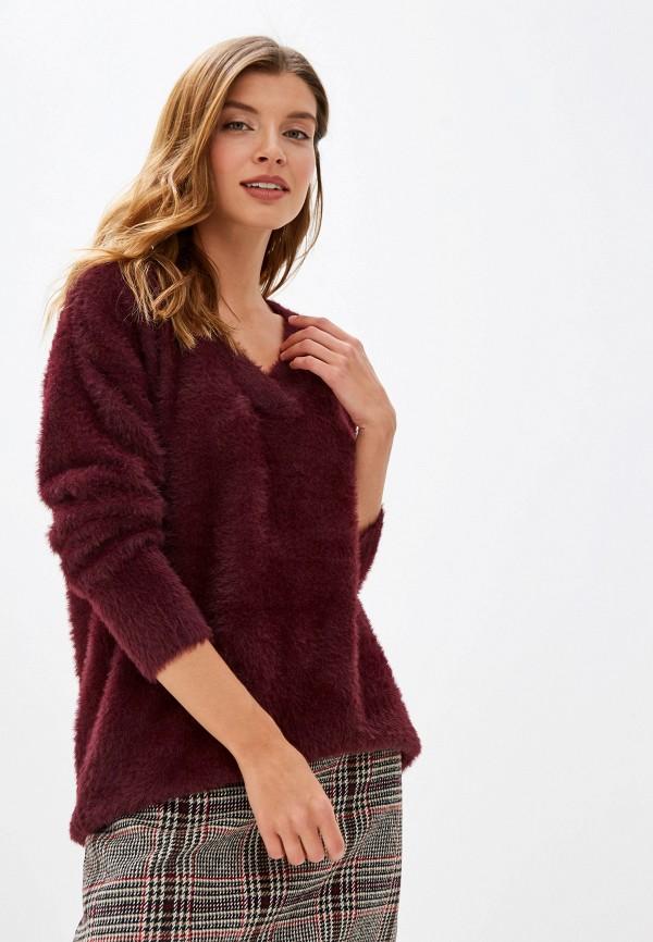 женский пуловер wallis, бордовый